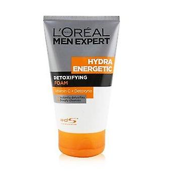Men Expert Hydra Energetic Detoxifying Foam 100ml or 3.4oz