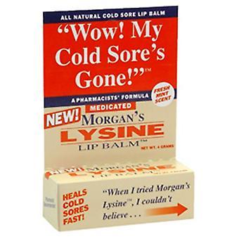Morgans Lysine Baume à lèvres Médicamenté, 0,17 oz
