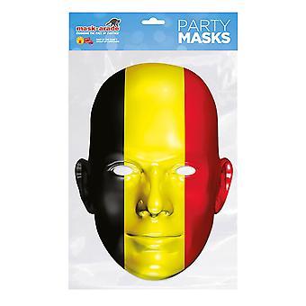 Mask-arade Belgium Flag Party Face Mask