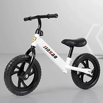 Balance Bike No Pedals, Height Adjustable Bicycle Scooter With 360° Rotatable