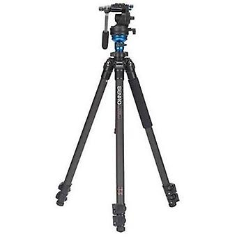 Benro s2 single leg carbon fiber video tripod kit (c1573fs2)