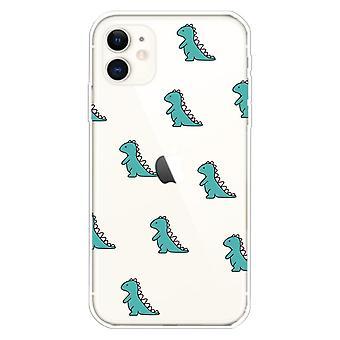 Dinosaurier- skal för iPhone 11