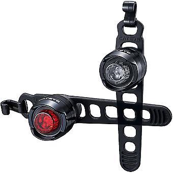 CatEye Orb Rechargeable Front and Rear Bicycle Lights - SL-LD160RC F/R