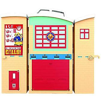 Fireman Sam Playset With Figure - Fire Station