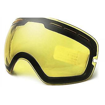 Occhiali per sport sulla neve invernali con anti-nebbia, protezione uv e donne