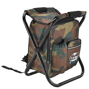 Venkovní rybářské židle taška, skládací kempovací stolička, přenosný batoh