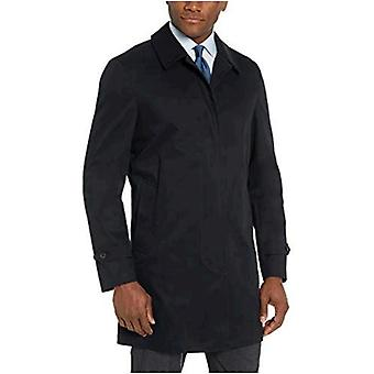 Merk - BUTTONED DOWN Men's Water-Repellant Cotton-Blend Car Coat