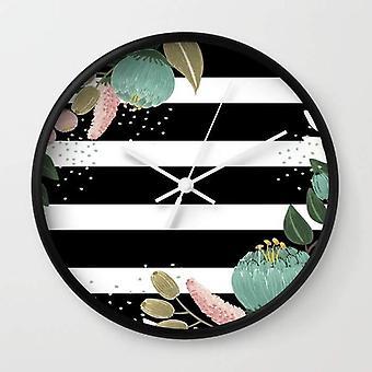 Fancy Lines Wall Clock