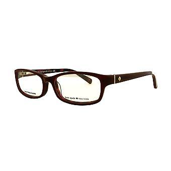 كيت سبيد نارسيسا W73 نظارات السلحفاة الحمراء الوردية