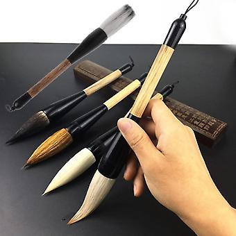 Gedehår, bambusaksel pensel til kunst