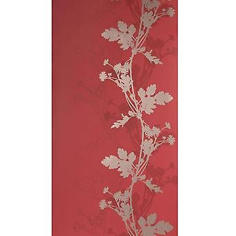 Red trail gold and black wallpaper BL-0902