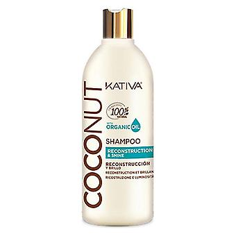 Fuktgivande schampo Coconut Kativa (500 ml) (500 ml)