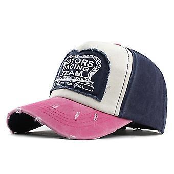 Summer Cotton Baseball Cap, Snapback Spring Hat