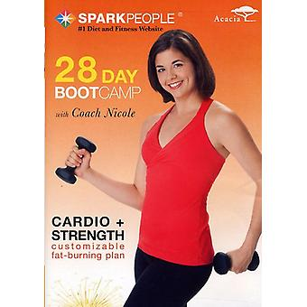 Spark People: 28-Day Boot Camp [DVD] USA import