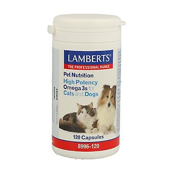 Pet Nutrition Omega-3 for cats and dogs 120 tablets