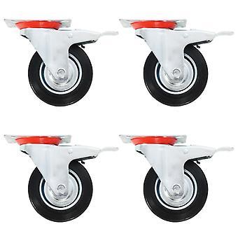 8 pcs. steering wheels 100 mm