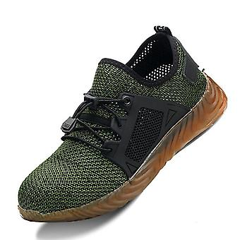 Air Mesh Steel Toe Prodyšná bezpečnost práce lehké boty odolné proti propíchnutí