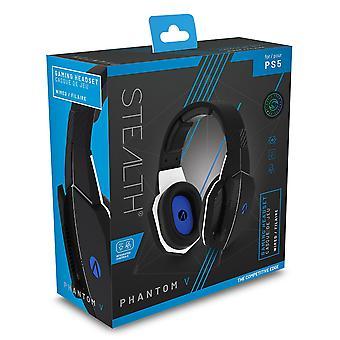 STEALTH SP-Phantom V Black Stereo Gaming Headset for PS5