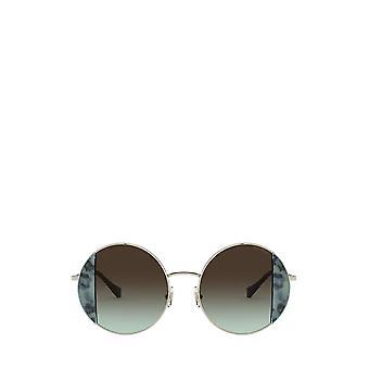 Miu Miu MU 57VS havana light blue / pale gold female sunglasses