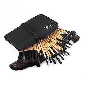 32pcs Makeup Brush Foundation Eye Shadows Powder Brushes