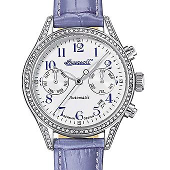 Ladies Watch Ingersoll IN7401SWH, Automatic, 36mm, 5ATM