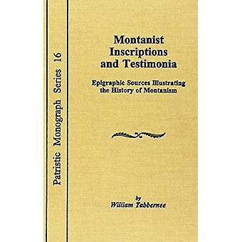 Montanist Inscriptions & Testimonia by Tabbernee - 9780813210131