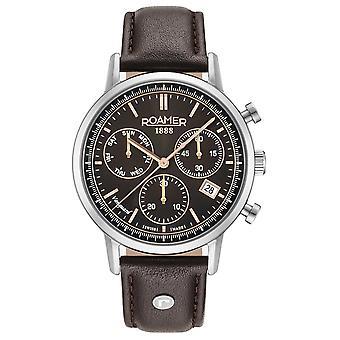 Roamer 975819 40 55 09 Vanguard Chrono II watch 42 mm