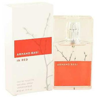 Armand Basi In Red By Armand Basi Eau De Toilette Spray 1.7 Oz (vrouwen) V728-477729