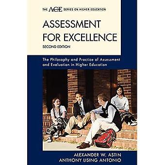 Vurdering for topkvalitet: Filosofien bag og praksis for vurdering og evaluering inden for de videregående uddannelser