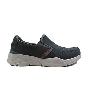 Skechers Equalizer 4.0-Persisting 232017 Charcoal Mesh Mens Slip On Casual Trainers