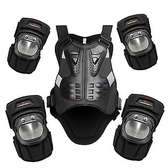 Snowboarding Jacket, Motorcycle Chest Elbow Knee Protection Vest & Pads