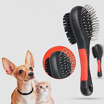 Pet Bath Massage Brush Gentle Double-sided Hair Convenience Brush