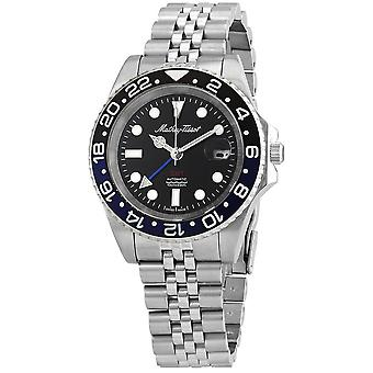 Mathey-Tissot GMT Automatic Batman Bezel Men's Watch H903ATNB