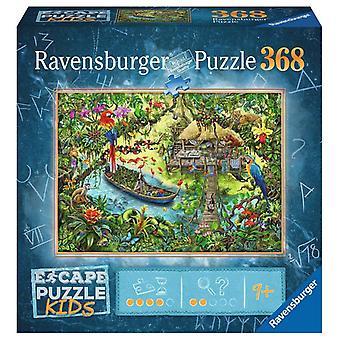 Ravensburger Puzzle Escape Puzzle Kinder 368 Stück, Dschungel