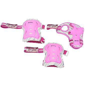 Byox beskyddare Amar 2 till 25 kg, i rosa för knä, armbåge och handled