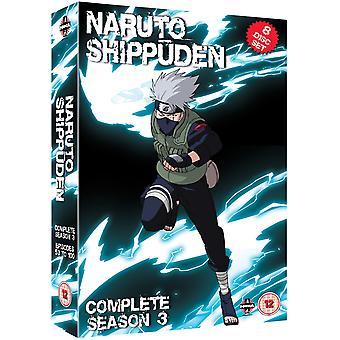 Naruto Shippuden Komplett Serie 3 Box Set Episoder 101-153 DVD