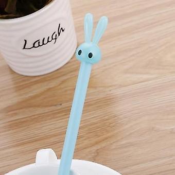 1pcs Bunny Gel Pen 0.5mm Cute Pens Novelty Stationery Kawaii Pens Student Cute