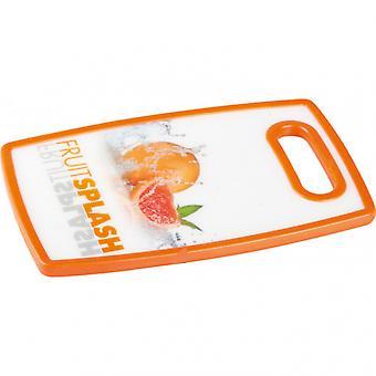 schneidebrett orange 25 x 16 x 1 cm