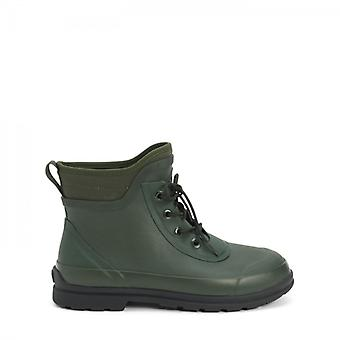 Muck Boots Original Lace Mens Neoprene/rubber Ankle Wellington Boots Green