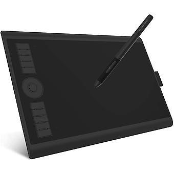 """FengChun M10K PRO -10"""" X 6,25 """" Zeichentablett mit AP32 Battrielosem Stift, untersttzung"""