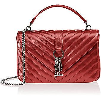 Bolsa Bolsa 1626, Bolso de Mujer, Rojo, 24x15x10 cm (W x H x L)