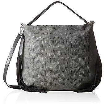 Fritzi aus Preussen Leja Medium Snake, Hobo-Shoulder Bag Woman, Black, One Size