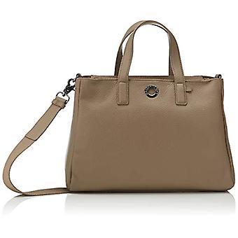 Mandarin Duck Mellow Leather, Crossbody Bag Dames, Grijs (Amphora), 12x19x28 cm (B x H x L)