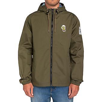 Element Peanuts Alder Light Jacket in Army
