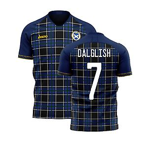 Skotlanti 2020-2021 Home Concept Football Kit (Libero) (DALGLISH 7)
