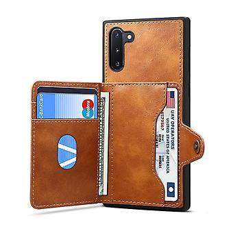 Slot per carte custodia in pelle portafoglio per huawei mate30pro marrone no1601