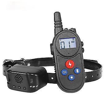 Hundetrainingshalsband neues Produkt Anti-Bellen abstoßende Gegensprechanlage Elektroschock Haustier liefert Trainingshilfen