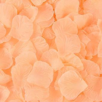 Keinotekoinen silkki ruusu terälehtiä häät koristelu romanttinen