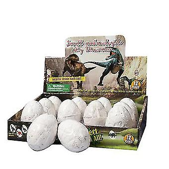 Style1 dinosaur eggs dino dig kits 12 pcs dinosaurs excavation toy gifts x7736