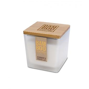 Heart & Home Bamboo & Ginger Lily 210g Jar Candle